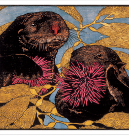 ANDREA RICH: SEA OTTERS NOTE CARDS