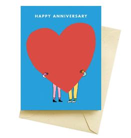 BIG LOVE ANNIVERSARY CARD