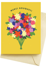 MERCI BOUQUET THANK YOU CARD