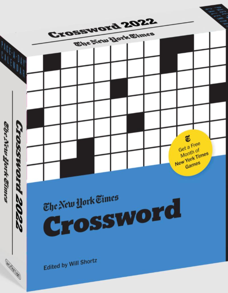 THE NEW YORK TIMES CROSSWORD CALENDAR 2022