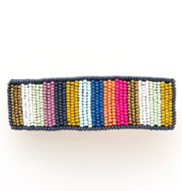 INK + ALLOY BEADED BARRETTE