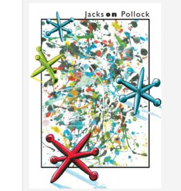JACKS ON POLLOCK BIRTHDAY CARD