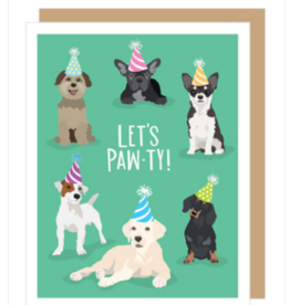 APARTMENT 2 CARDS PAW-TY DOGS BIRTHDAY CARD