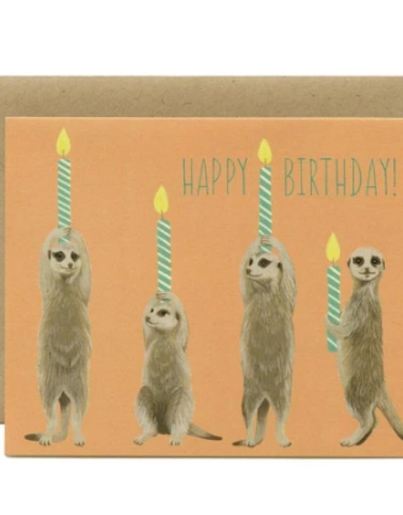 YEPPIE PAPER MEERKAT BIRTHDAY CARD