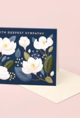 MAGNOLIA SYMPATHY CARD