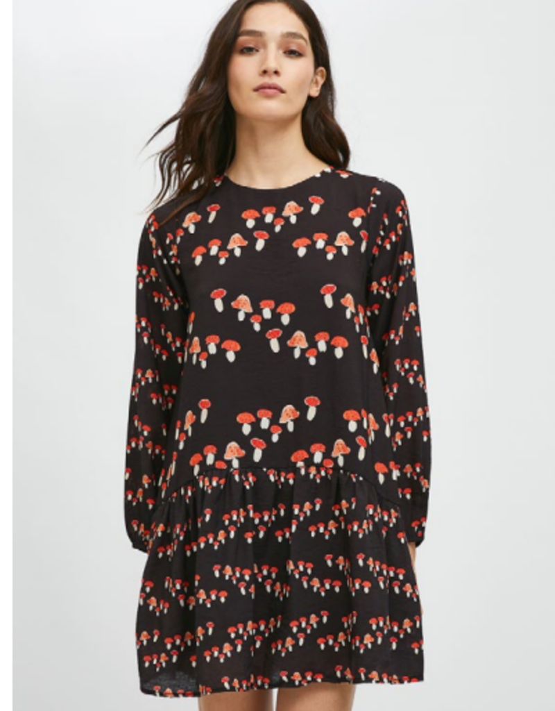 COMPANIA MUSHROOM SHORT DRESS