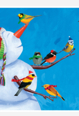 SNOWMAN WITH BIRDS BOXED CARDS