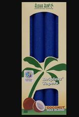 ALOHA BAY BLUE COCONUT WAX TAPER