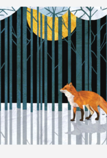 FOX PEACE IN THE NEW YEAR CARDS