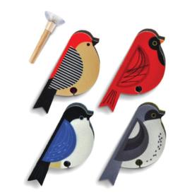 PERCHED BIRD SPONGES