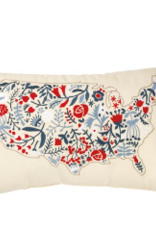 PRIMITIVES BY KATHY FLORAL USA PILLOW