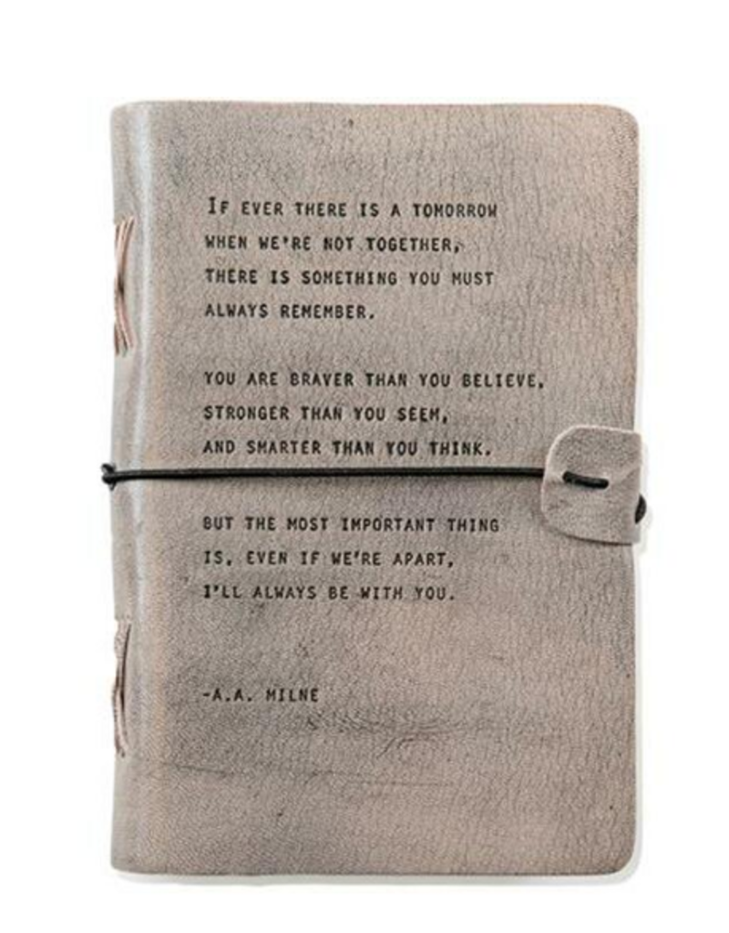 A.A. MILNE LEATHER JOURNAL