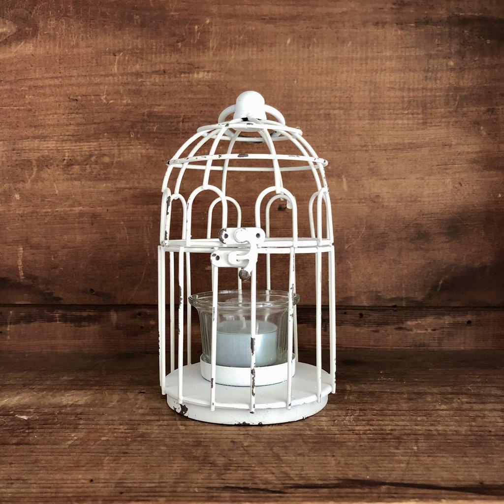 Birdhouse Candleholder