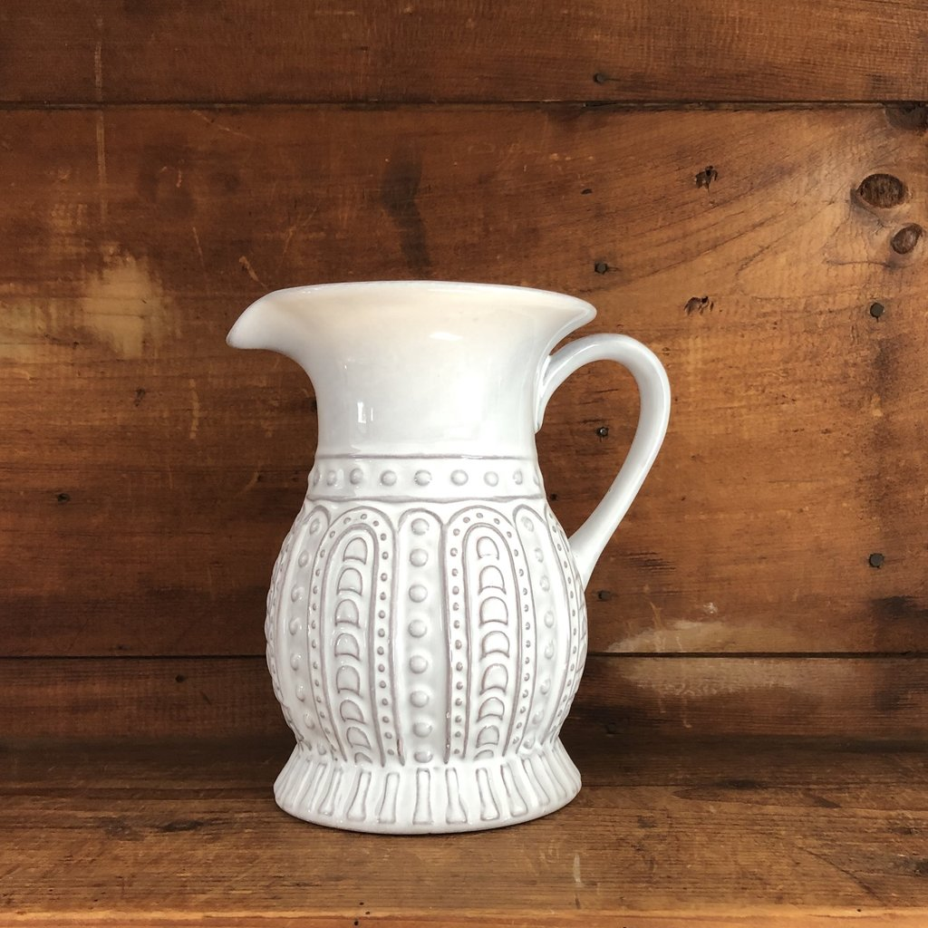 Charlotte Ceramic Pitcher