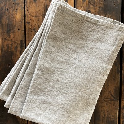 Stonewashed Linen Tea Towel - 2 Colors