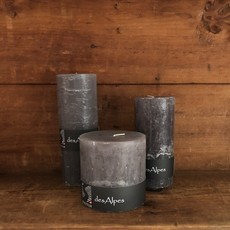 Rustic Pillar Candles