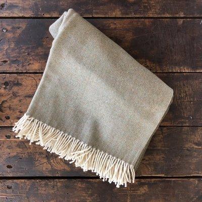 Merino Wool Throw Landscape
