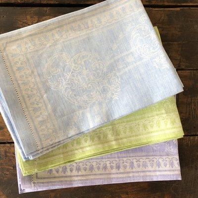 Linen Hemstitch Tea Towel - 3 Colors
