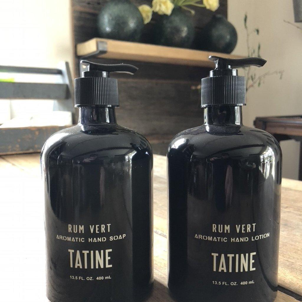 Tatine Rum Vert Hand Lotion