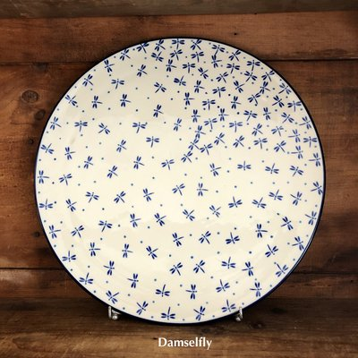 Bunzlau Castle Luisa Pizza Plate - 4 Patterns