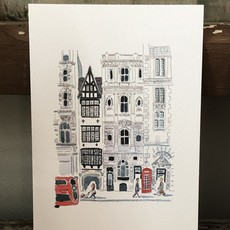 Set of 5 Postcards - London