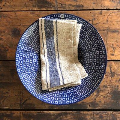 Napkin - Vintage Blue Stripe