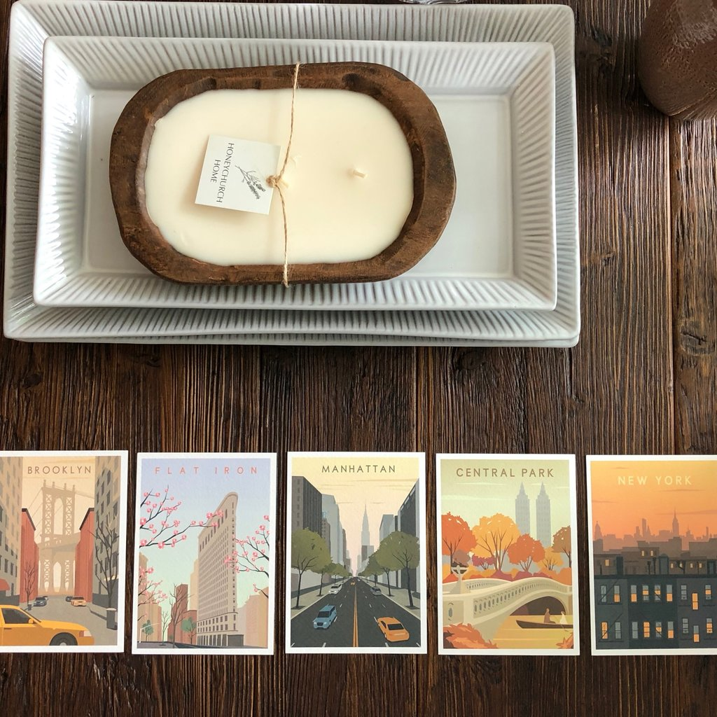 Set of 5 Cards - NYC