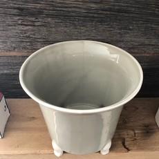 Gray Cachepot