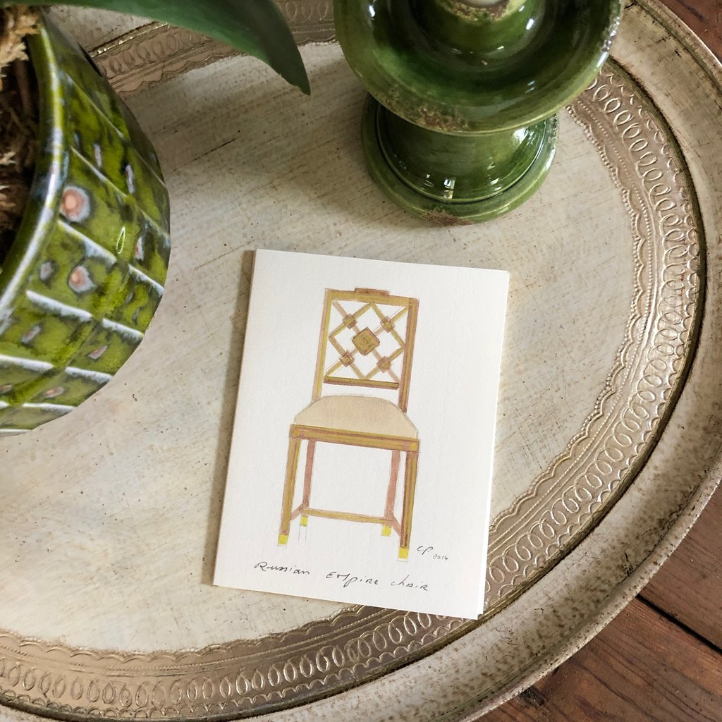Chair Note Cards