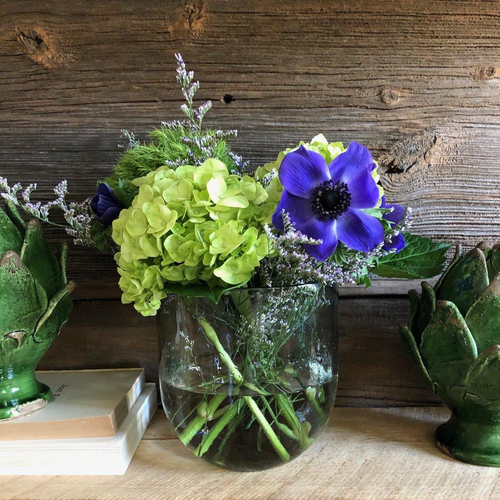 Glass Bouquet Vase