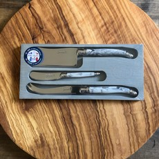 Laguiole 3 Cheese Knife Set