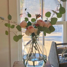 Glass Artisanal Vase