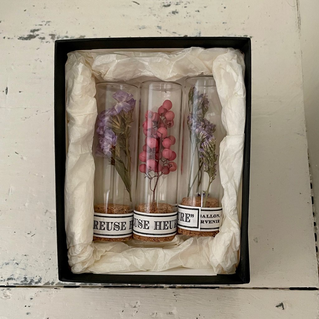 Japanese Flower Tube Gift Sets