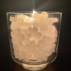Candle - Hearts / small