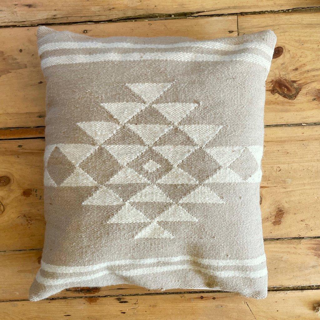 Kilim Neutral Sahara Pillow