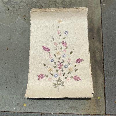 Flower Paper 24x35V - Multi-Color