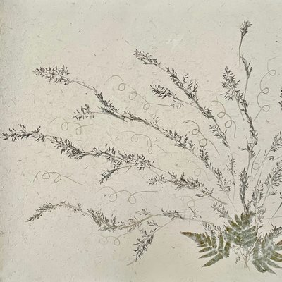 Flower Paper 30x59 - Seeds of  Rice