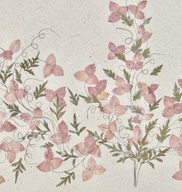 Flower Paper 30x59 - Pale Pink