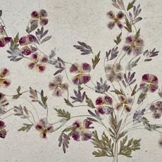 Flower Paper 30x59 - Purple