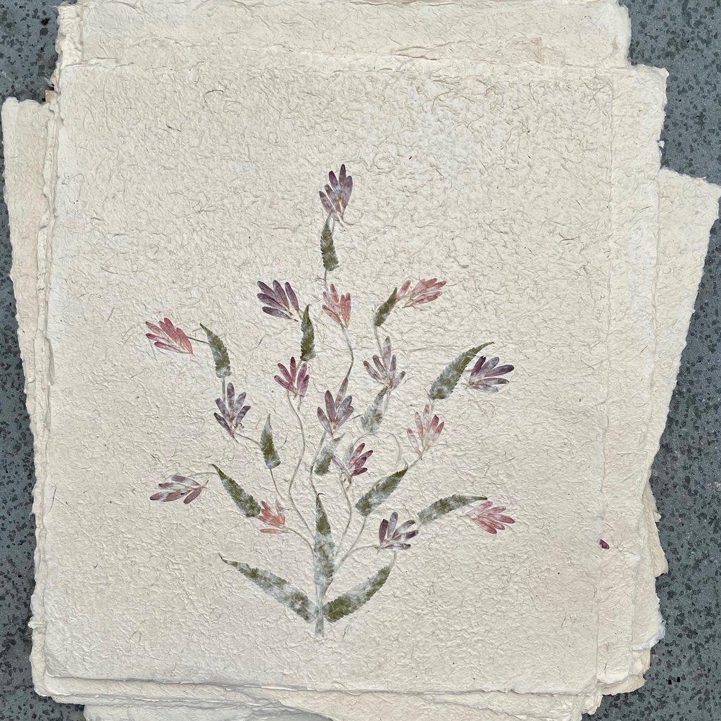 Flower Paper 20x18 - Pink/Purple