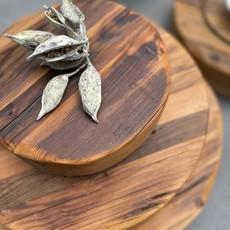 etu Reclaimed Wood Trivet - Medium