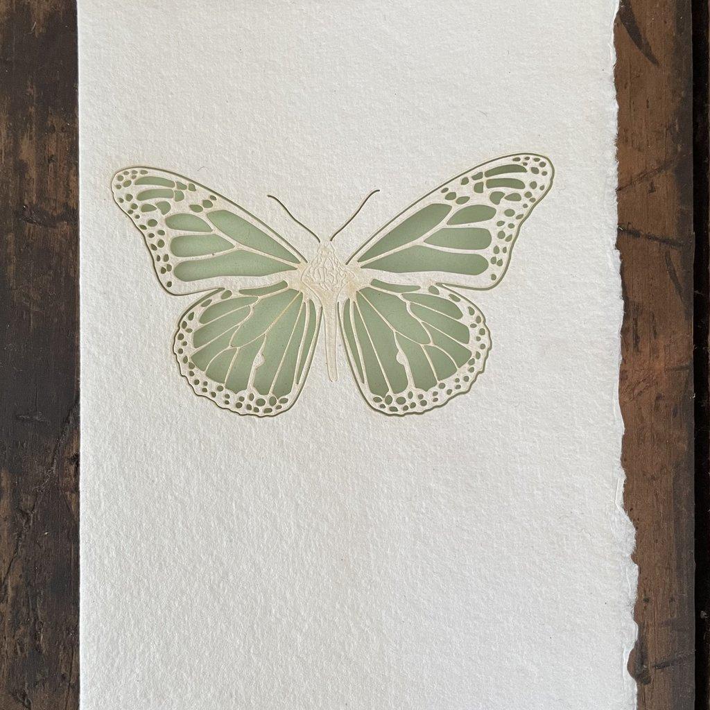 Laser Cut Card - Butterfly