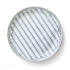 Galvanized Metal Plates- Set of 4