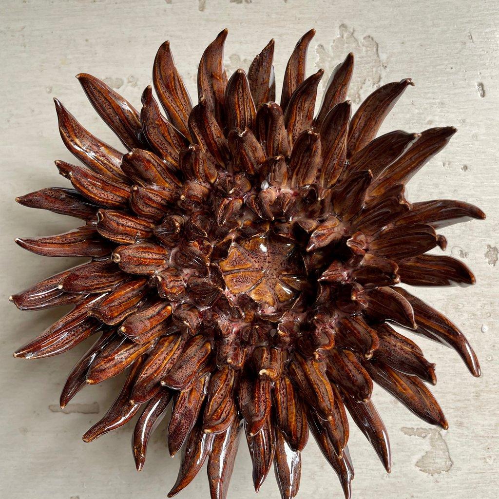 Mum Chocolate Ceramic Flower