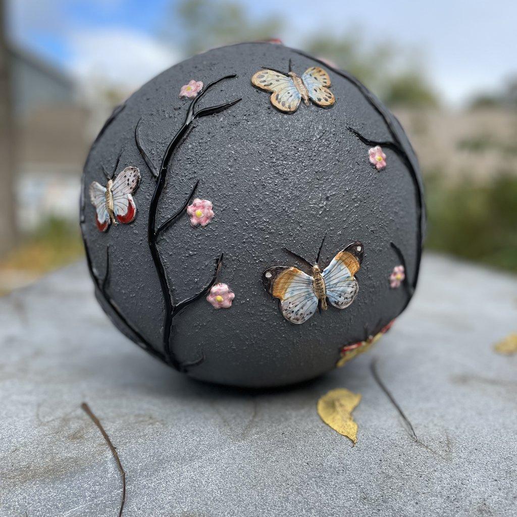 Butterfly Sphere- Black