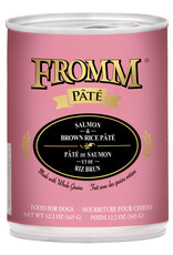 Fromm Fromm Pate Dog Can Salmon & Brown Rice 12.3OZ