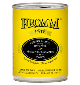 Fromm Fromm Dog Pate Chicken, Salmon & Oats 12oz