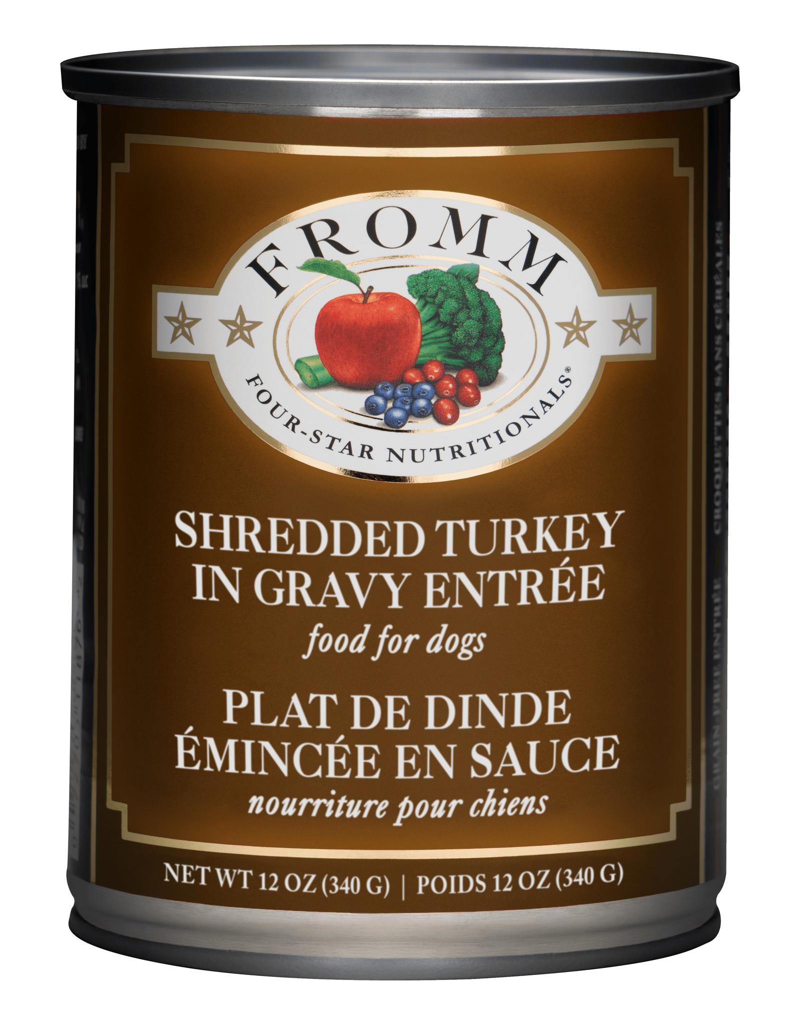 Fromm Fromm Dog Four Star Shredded Turkey 12oz