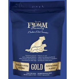 Fromm Fromm Dog Senior/Reduced Activity Gold