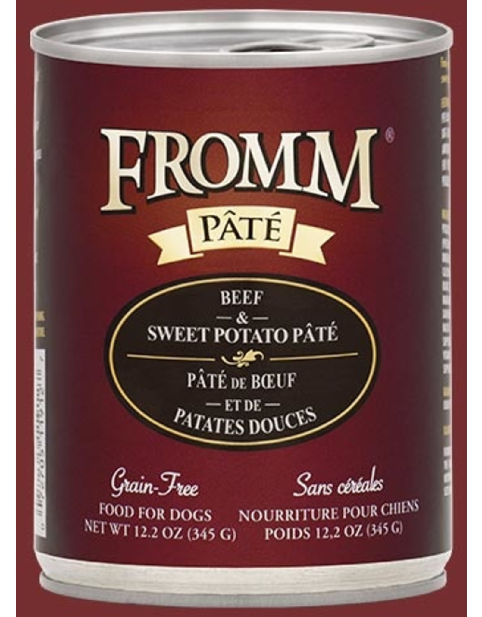 Fromm Fromm Dog Beef & Sweet Potato 12.2oz